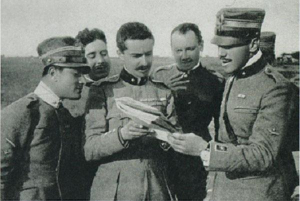 I cinque eroi vittoriesi della Grande Guerra