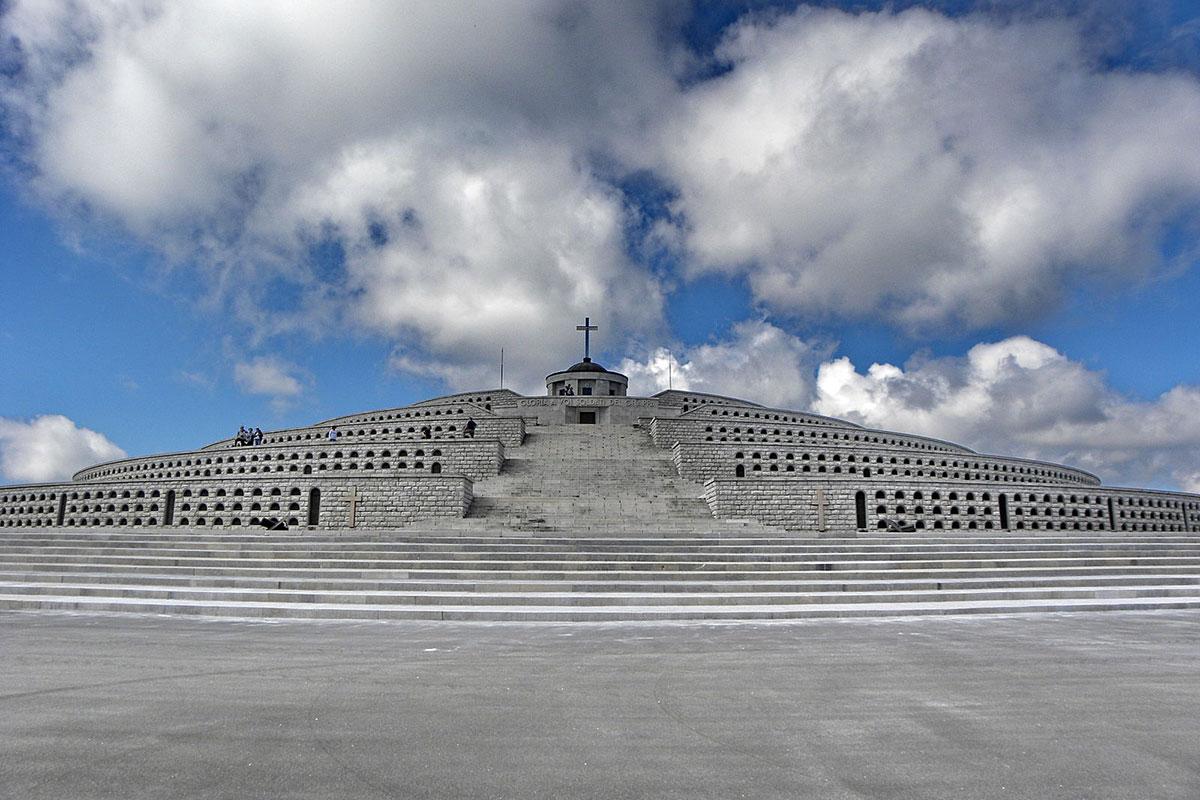 Monte Grappa, aperto il sacrario ai turisti